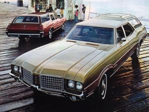 Oldsmobile Vista Cruiser 1972 года